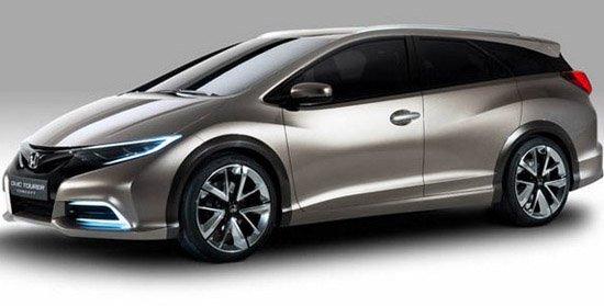 这款旅行车基于欧版civic思域两厢车开发而来,量产版将在秋天的法兰克图片