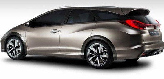 新思域旅行概念车将亮相日内瓦车展图片