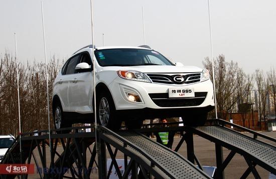 和讯汽车试驾广汽传祺GS5 1.8T 底盘扎实可靠高清图片