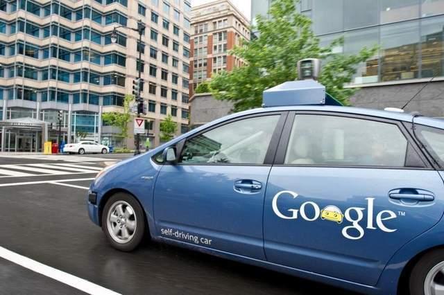 无人驾驶技术领域是一个有力的保证,.自动驾驶车还处在测试高清图片
