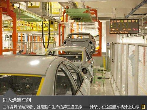 全新s60加长版诞生地 探沃尔沃成都工厂高清图片