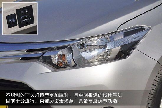 价格实在 设计更活力 丰田全新威驰图解高清图片