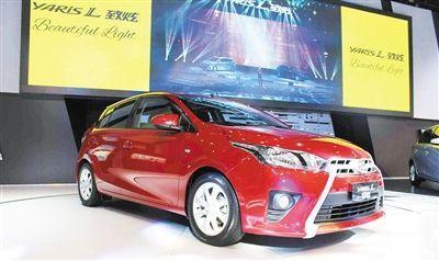 致炫是丰田汽车首次为中国市场量身打造的一款两厢小型车.-广汽丰高清图片