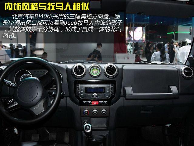 推荐2.4l征途版 北京汽车bj40购车手册