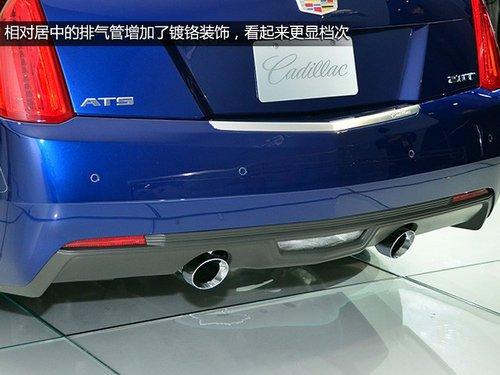 凯迪拉克ats coupe的整体造型基本与ats一致,标志性的前大灯造型