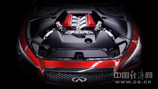 英菲尼迪q50 eau rouge概念车亮相日内瓦车展 高清图片