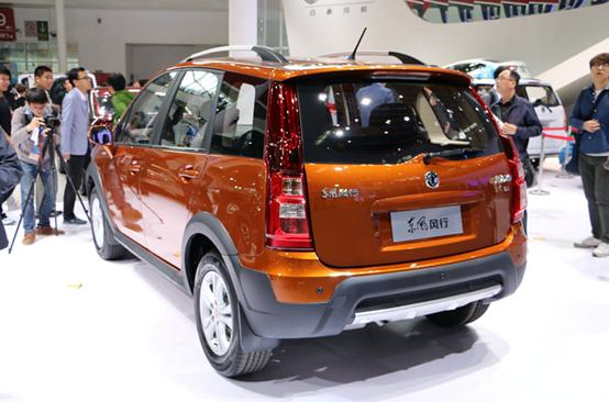 2014北京车展重磅新车:东风景逸x3