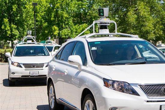 谷歌无人驾驶汽车面面观高清图片