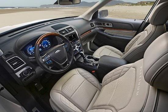 福特汽车内部按钮图解