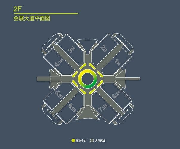 虹桥号航站楼平面图