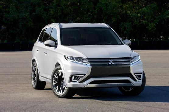 三菱汽车上海车展阵容曝光 两款概念SUV领衔高清图片