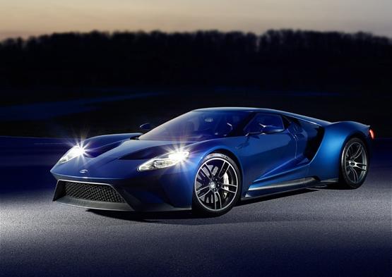 福特gt超级 跑车 高清图片