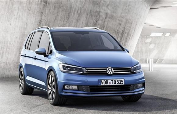上海大众新一代途安将延续海外版车型的外观设计,高配车型还可以