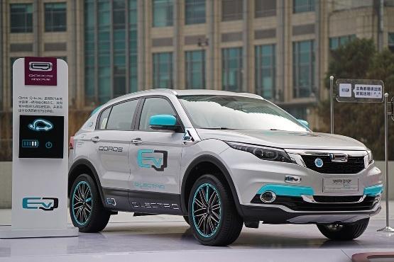 观致建新能源汽车事业部 明年起推观致5和电动车高清图片