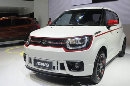 铃木ignis提供12种车身配色 将於本月成都车展正式上市