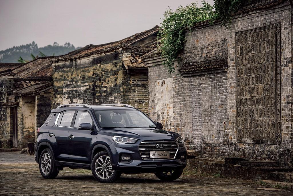 实力硬派智能网联SUV 试驾北京现代新一代ix35